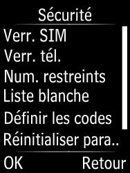 Doro Phone Easy 631 - Sécuriser votre mobile - Activer le code de verrouillage - Étape 5