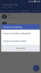 HTC 10 - Contactgegevens overzetten - delen via Bluetooth - Stap 9