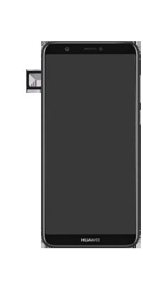Huawei P Smart - Premiers pas - Insérer la carte SIM - Étape 3