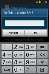 Samsung S6810P Galaxy Fame - SMS - Configuration manuelle - Étape 7