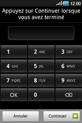 Samsung Galaxy Ace - Sécuriser votre mobile - Activer le code de verrouillage - Étape 8