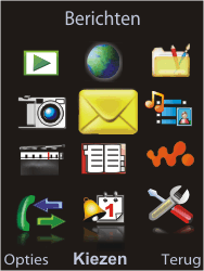 Sony Ericsson W595 - E-mail - Hoe te versturen - Stap 3