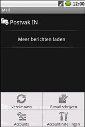 Samsung I5700 Galaxy Spica - E-mail - E-mails verzenden - Stap 5