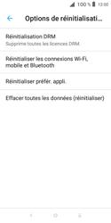 Alcatel 1X - Aller plus loin - Restaurer les paramètres d'usines - Étape 6