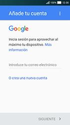 Huawei Y5 - E-mail - Configurar Gmail - Paso 9