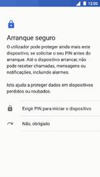 Nokia 5 - Segurança - Como ativar o código de bloqueio do ecrã -  7