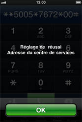 Apple iPhone 4 - SMS - Configuration manuelle - Étape 7