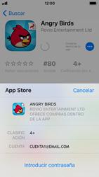 Apple iPhone SE iOS 11 - Aplicaciones - Descargar aplicaciones - Paso 13