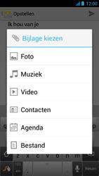 Acer Liquid E2 - E-mail - Hoe te versturen - Stap 11