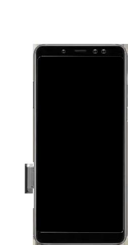 Samsung galaxy-a8-2018-sm-a530f-android-pie - Instellingen aanpassen - SIM-Kaart plaatsen - Stap 3