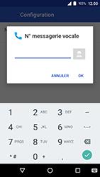 Crosscall Action X3 - Messagerie vocale - configuration manuelle - Étape 13