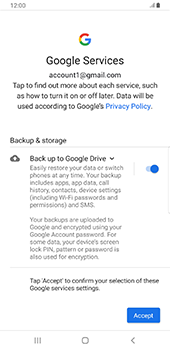 Samsung galaxy-s9-plus-android-pie - Applications - Create an account - Step 20