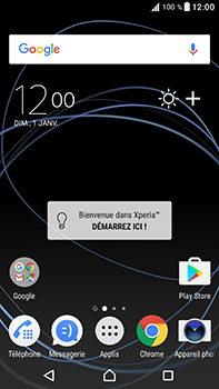 Sony Xperia XA1 Ultra - Applications - Télécharger une application - Étape 1