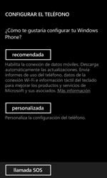 Nokia Lumia 520 - Primeros pasos - Activar el equipo - Paso 6