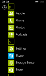Nokia Lumia 530 - Voicemail - Manual configuration - Step 3