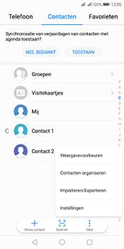 Huawei Mate 10 Pro Dual-SIM (Model BLA-L29) - Contacten en data - Contacten overzetten via Bluetooth - Stap 4