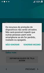 Samsung Galaxy J1 - Primeiros passos - Como ativar seu aparelho - Etapa 15