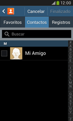 Samsung S7580 Galaxy Trend Plus - Mensajería - Escribir y enviar un mensaje multimedia - Paso 6