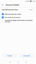Huawei P10 Lite - E-mail - Handmatig instellen - Stap 18
