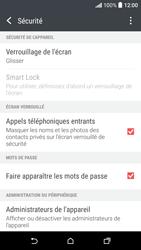 HTC Desire 530 - Sécuriser votre mobile - Activer le code de verrouillage - Étape 5