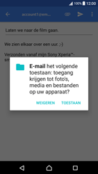 Sony Xperia XA - Android Nougat - E-mail - e-mail versturen - Stap 10