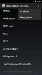 Acer Liquid Z410 - MMS - Handmatig instellen - Stap 15