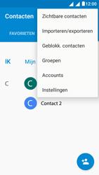 Alcatel Pixi 4 (5) 4G (5045X) - Contacten en data - Contacten kopiëren van SIM naar toestel - Stap 5