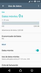 Sony Xperia XZ - Android Nougat - Internet - Ver uso de datos - Paso 5