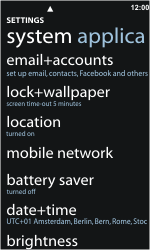 Nokia Lumia 800 - Network - Usage across the border - Step 4