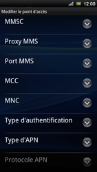 Sony Ericsson Xperia Neo V - Internet - configuration manuelle - Étape 14