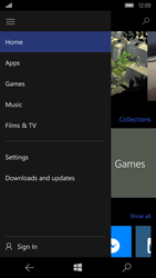 Microsoft Lumia 650 - Applications - Create an account - Step 5