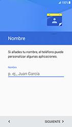 Samsung Galaxy S6 - Android Nougat - Primeros pasos - Activar el equipo - Paso 8