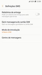 Samsung Galaxy A5 (2017) - SMS - Como configurar o centro de mensagens -  8