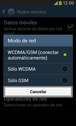 Samsung S7580 Galaxy Trend Plus - Red - Seleccionar el tipo de red - Paso 7