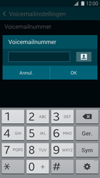 Samsung G900F Galaxy S5 - Voicemail - Handmatig instellen - Stap 7