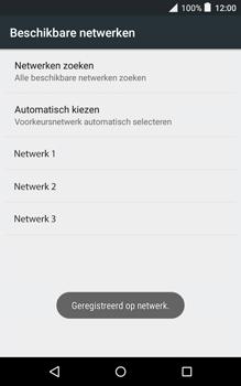 Alcatel Pixi 3 (8) - Netwerk - Handmatig netwerk selecteren - Stap 14