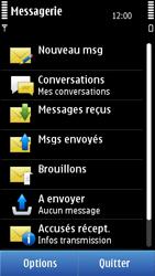 Nokia C7-00 - SMS - configuration manuelle - Étape 4
