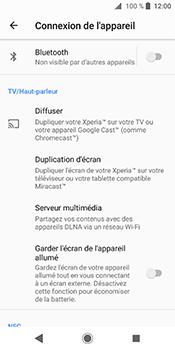 Sony Xperia XZ2 - Internet et connexion - Connexion avec un équipement multimédia via Bluetooth - Étape 6