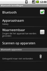 Samsung I7500 Galaxy - Bluetooth - Headset, carkit verbinding - Stap 9