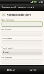 HTC T328e Desire X - E-mail - Configuration manuelle - Étape 12