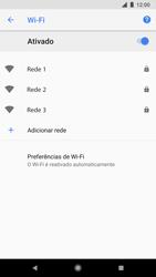 Google Pixel 2 - Wi-Fi - Como configurar uma rede wi fi - Etapa 7