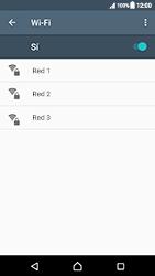 Sony Xperia XZ (F8331) - WiFi - Conectarse a una red WiFi - Paso 6