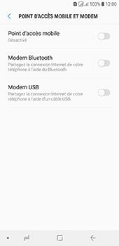 Samsung Galaxy J6 - Internet et connexion - Utiliser le mode modem par USB - Étape 8