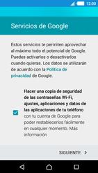 Sony Xperia M4 Aqua - E-mail - Configurar Gmail - Paso 13