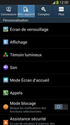 Samsung I9505 Galaxy S IV LTE - Messagerie vocale - configuration manuelle - Étape 6
