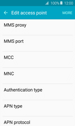 Samsung J120 Galaxy J1 (2016) - MMS - Manual configuration - Step 10