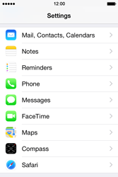 Apple iPhone 4s iOS 8 - MMS - Manual configuration - Step 10