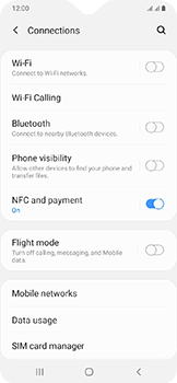 Samsung Galaxy A20e - Internet - Disable mobile data - Step 5