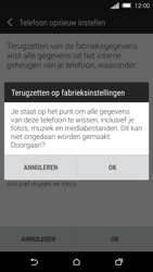 HTC One M8s - Toestel reset - terugzetten naar fabrieksinstellingen - Stap 7