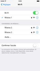 Apple iPhone 6 iOS 8 - Wifi - configuration manuelle - Étape 6